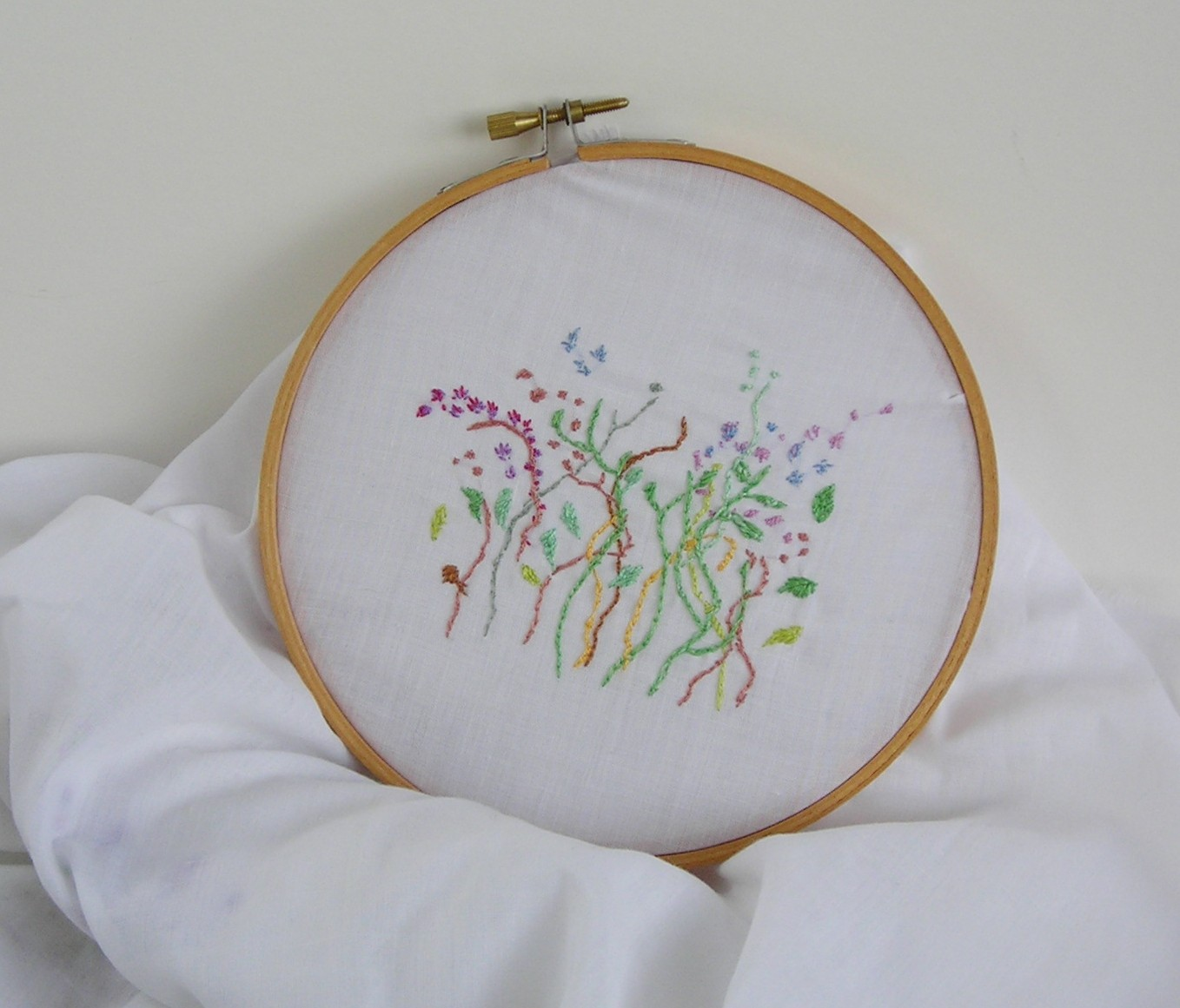 Embroidery Project Lets Talk Silk Painting
