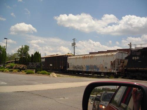 Urban Railroad Scene